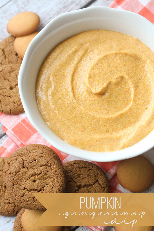 Delicious and creamy Pumpkin Gingersnap Dip recipe. A rich and smooth dip for cookies! Ingredients include cream cheese, solid-pack pumpkin, cinnamon, and marshmallow fluff.