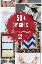 50+ DIY Gifts Under $2