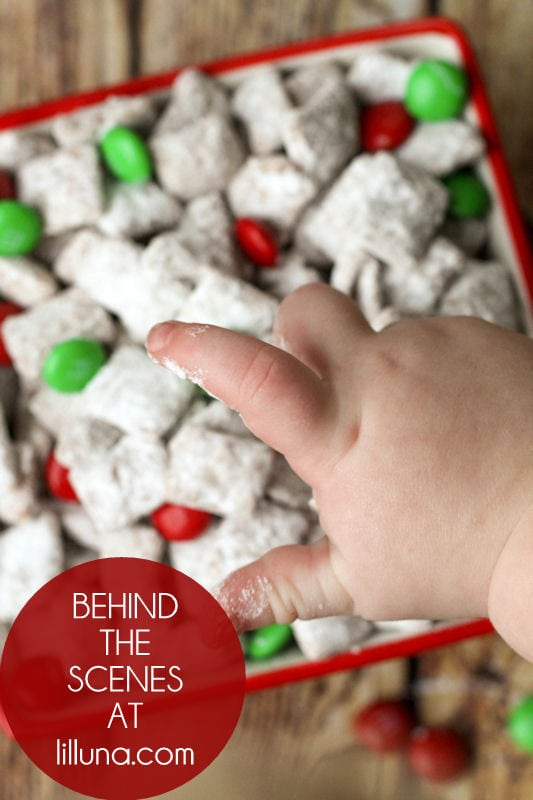 Behind the Scenes - Christmas Chow