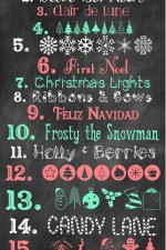 MORE Free Christmas Fonts and Graphics