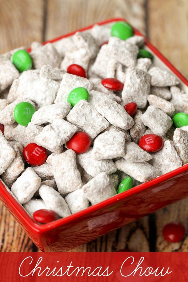 Christmas Puppy Chow.Christmas Chow Recipe
