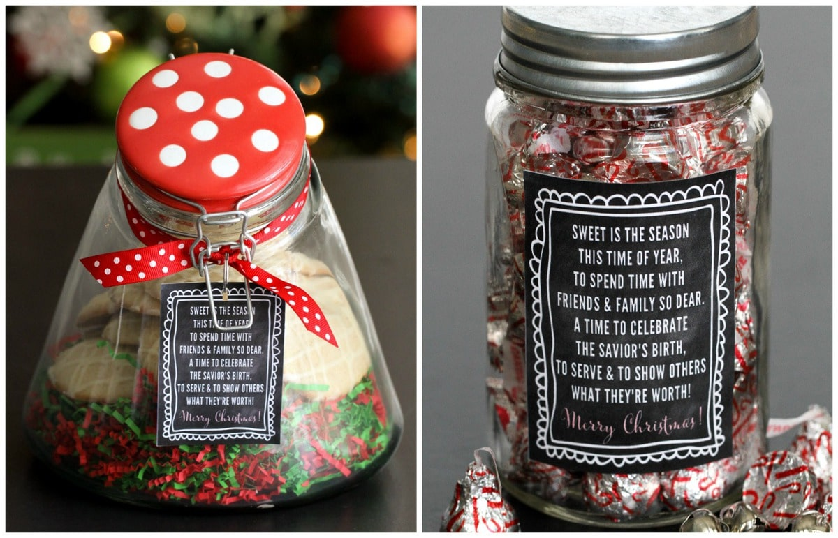 Christmas Jar Gifts