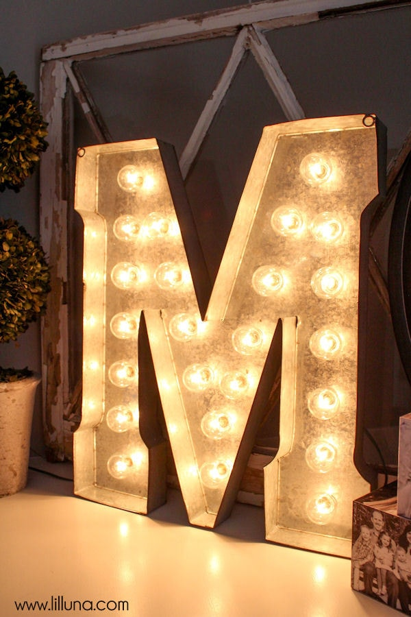 light up marquee letters diy marquee letter 15312