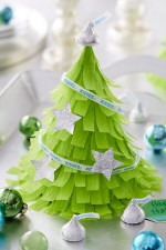 Mini Christmas Tree Pinatas - Cute!! { lilluna.com }