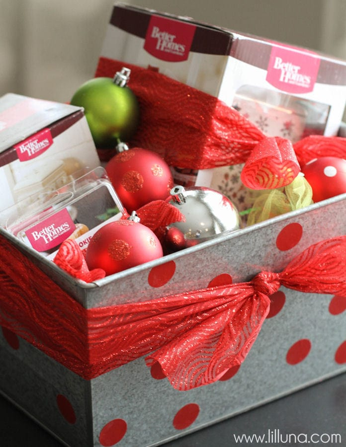 "CUTE and SIMPLE Holiday ""House Warming"" Gift idea on { lilluna.com }"