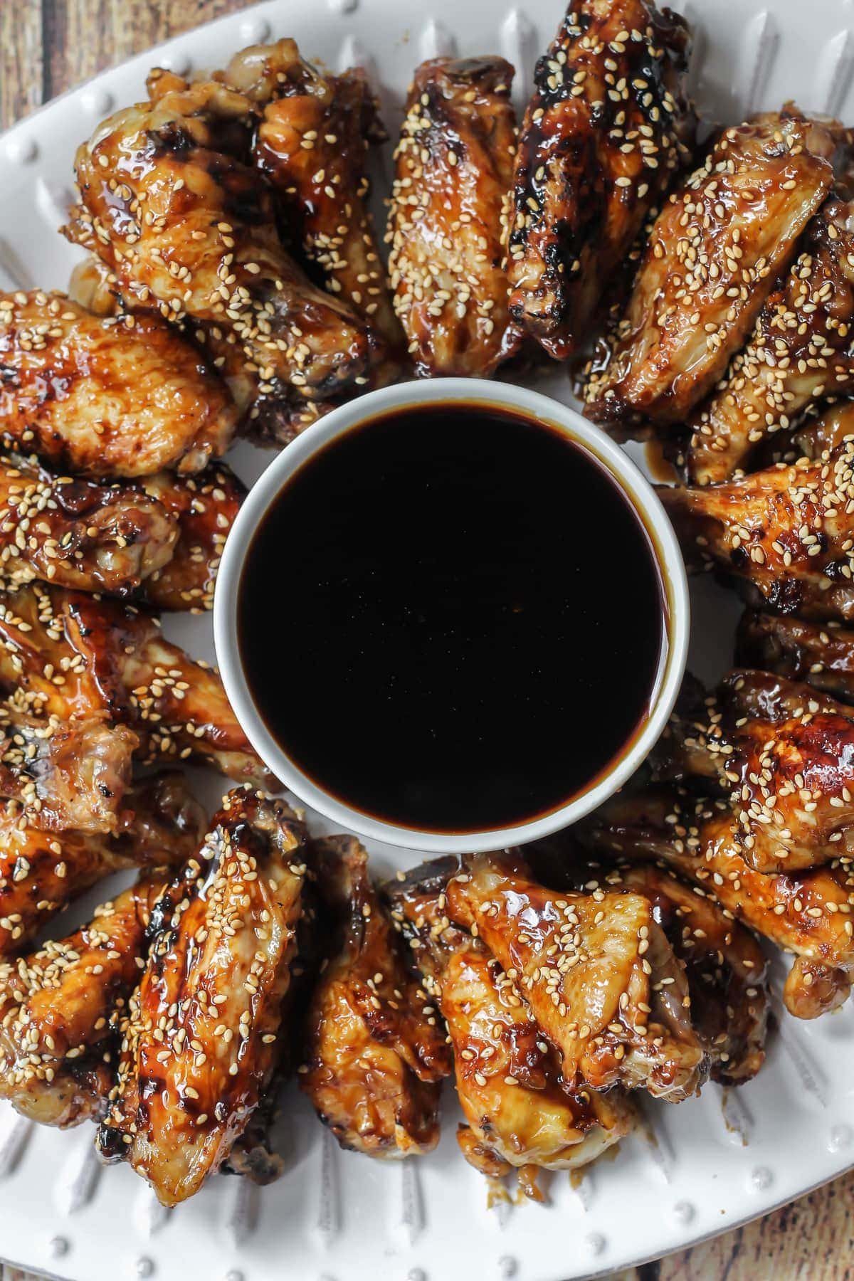 Homemade Teriyaki Wings - one of the best recipes you'll ever try! Lots of flavors make these chicken wings a great appetizer for any get together!