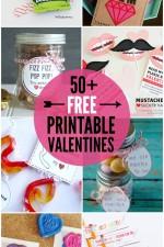50+ FREE Printable Valentines