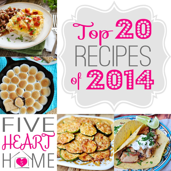 Five Heart Home's Best Recipes of 2014