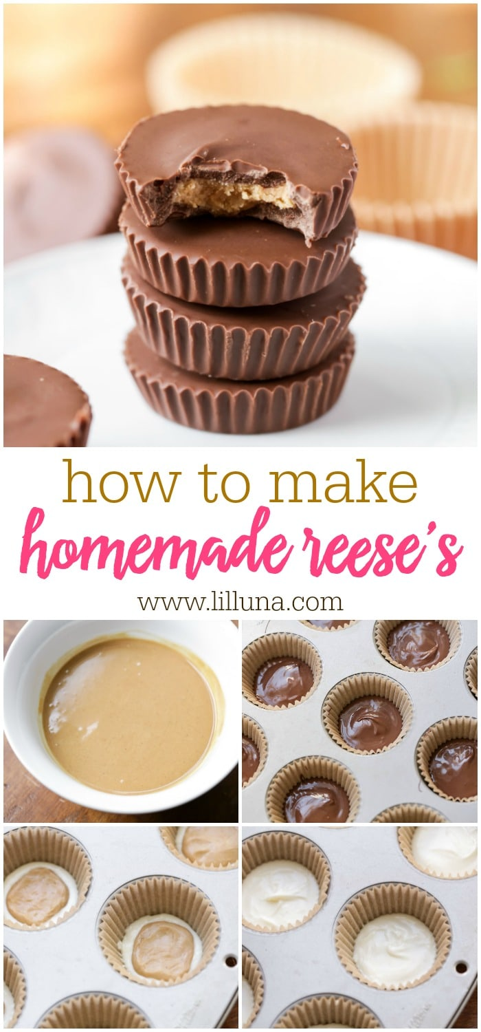 Homemade Reese's Peanut Butter Cups