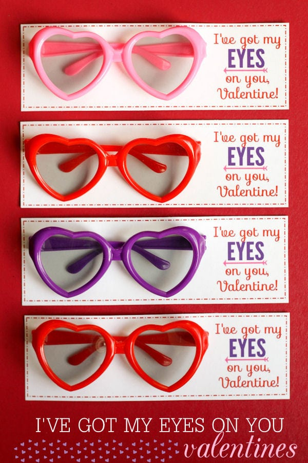 I've got my EYES on you, Valentine!! Free prints on { lilluna.com }