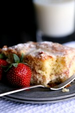 Strawberries and Cream Coffee Cake