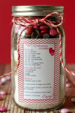 Valentine's Cookie Jar Gift
