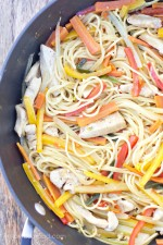 One Pan Chicken Lo Mein