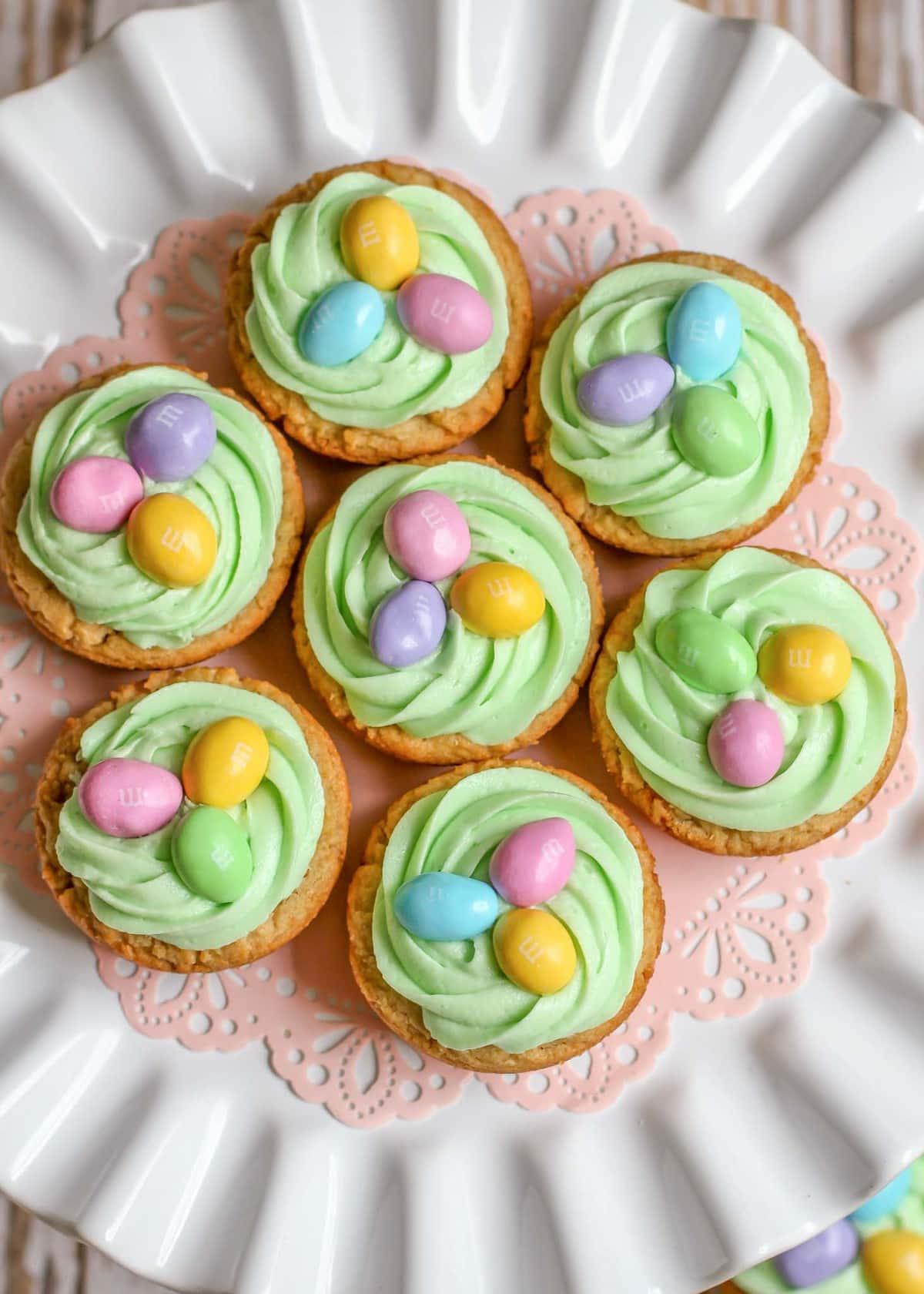 Easter Cookies Ideas - easter basket cookies