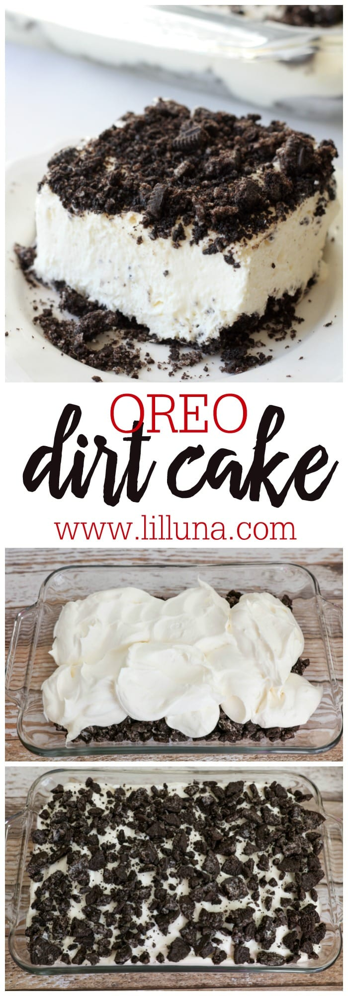 Oreo Dirt Cake recipe Lil Luna