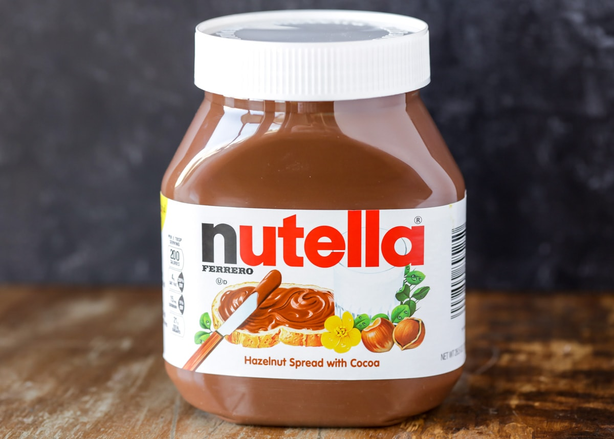 A jar of Nutella