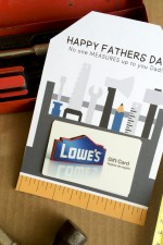 Fathers Day Gift Card Idea