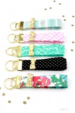 Kate Spade Inspired DIY Key Fobs