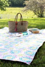 15 Minute Summer Picnic Blanket