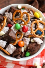 Brownie Puppy Chow Mix
