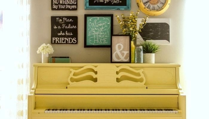 Painted Piano Tutorial