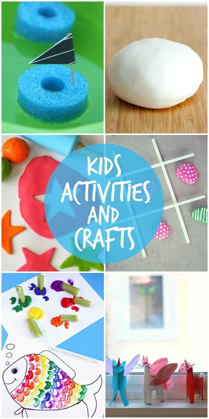 A roundup of awesome kids' activities and crafts to beat those summer boredom blues!! Check it out on { lilluna.com }