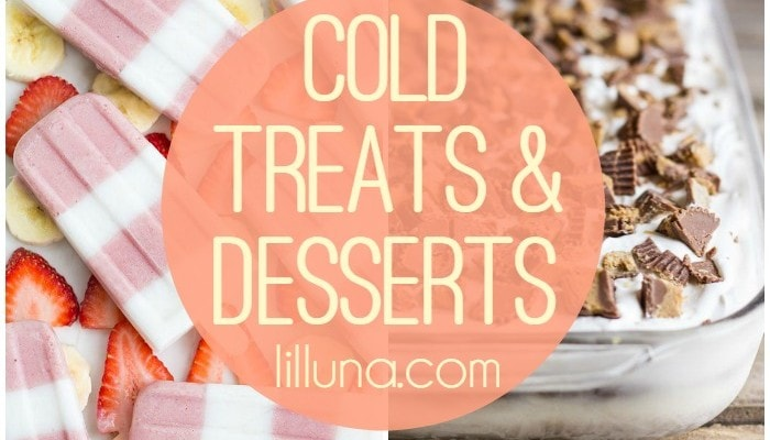 Cold Treats and Desserts