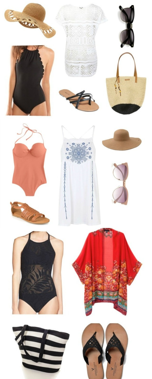 Lots of cute and trendy ways to cover up this summer by the pool or at the beach! See it on { lilluna.com }