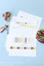 Summer Fun Activity Printable Pack by Blooming Homestead copy