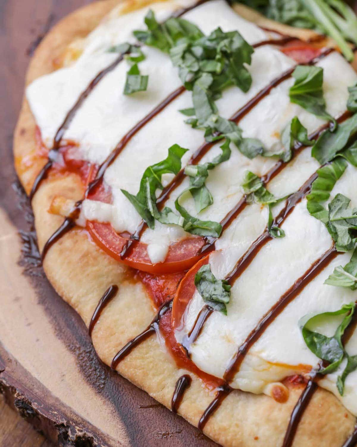 Caprese Pizza Recipe A Disney Copycat Recipe Lil Luna