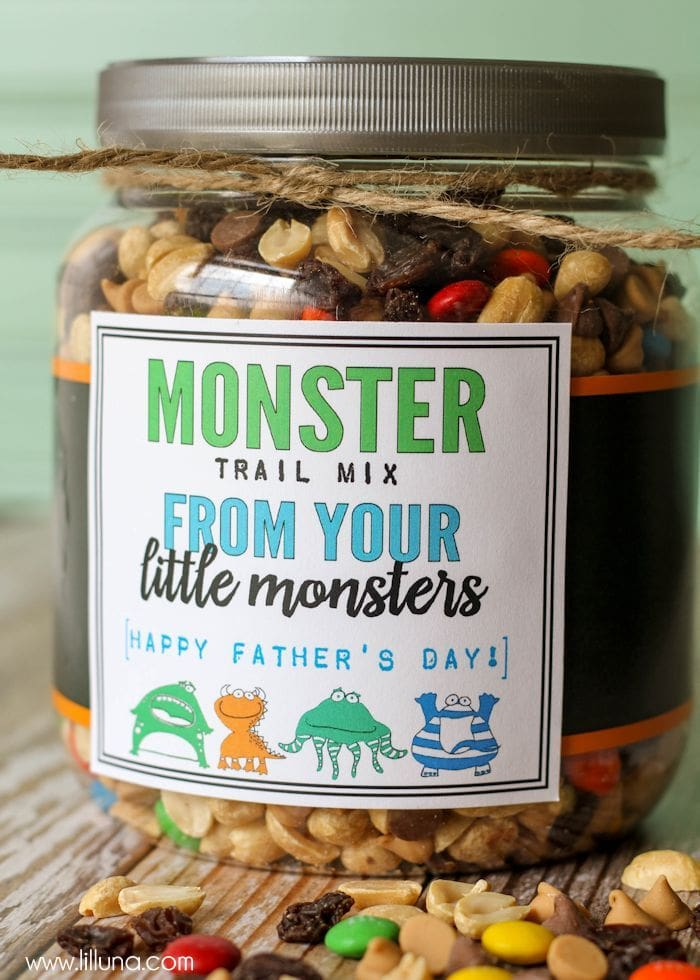 Monster Trail Mix Father S Day Gift