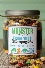 Monster Trail Mix Father's Day Gift