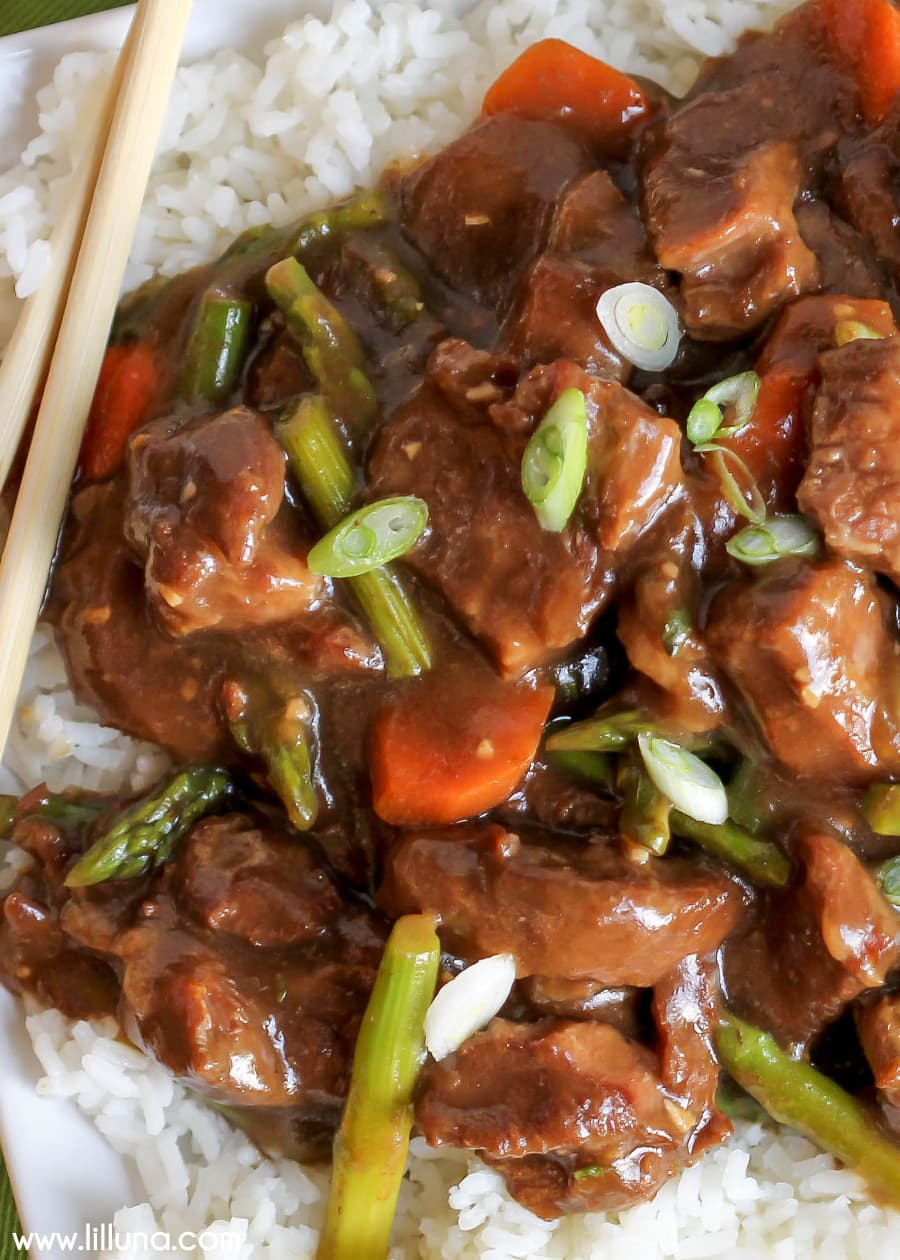 Crock Pot Mongolian Beef So Simple And Delicious It Will Be A New Favorite
