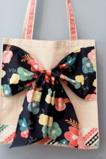 Easy DIY Bow Tote Tutorial