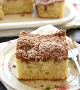 Cream Cheese Coffee Cake | FiveHeartHome.com for LilLuna.com