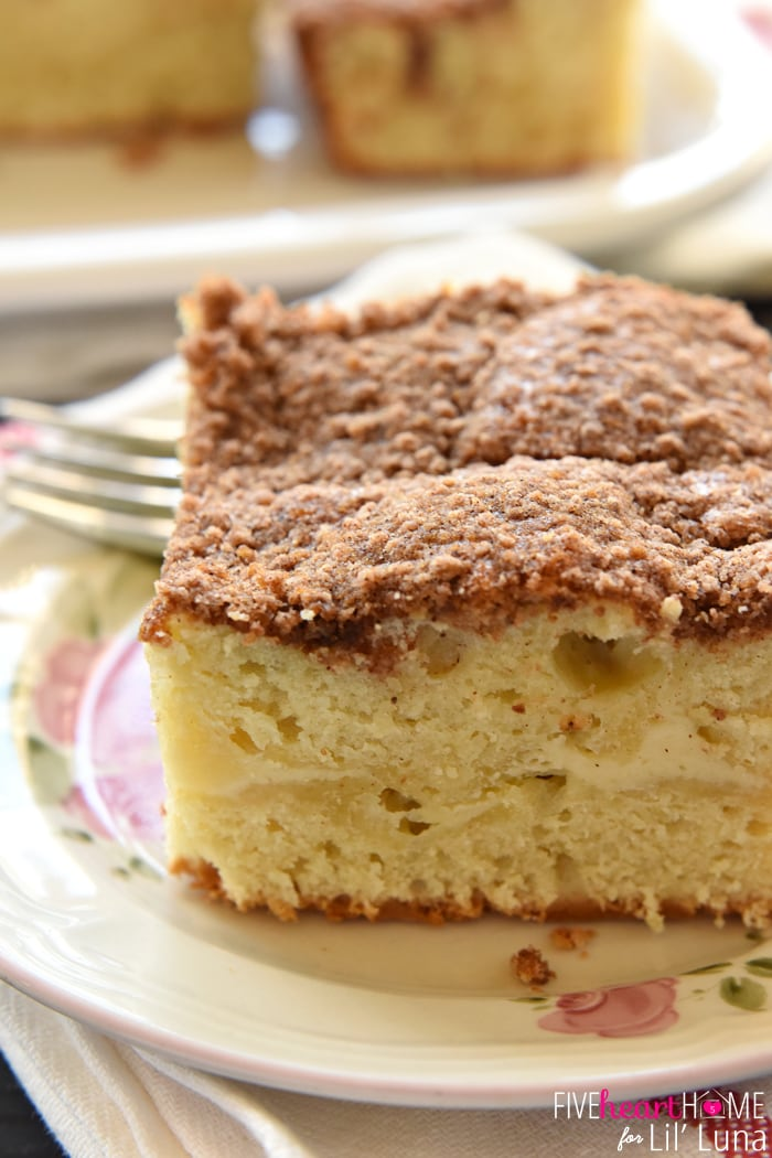 Cheese Streusel Coffee Cake