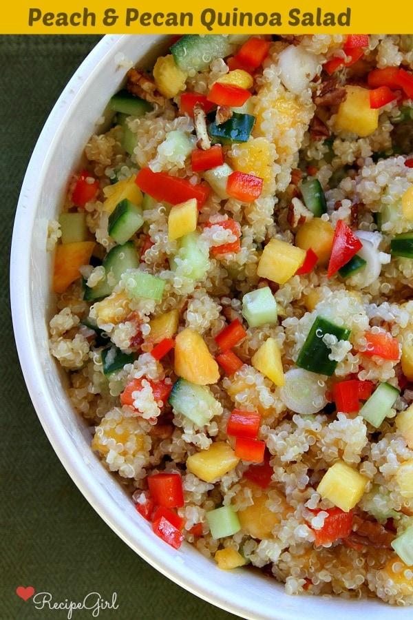 Pecan Quinoa Salad