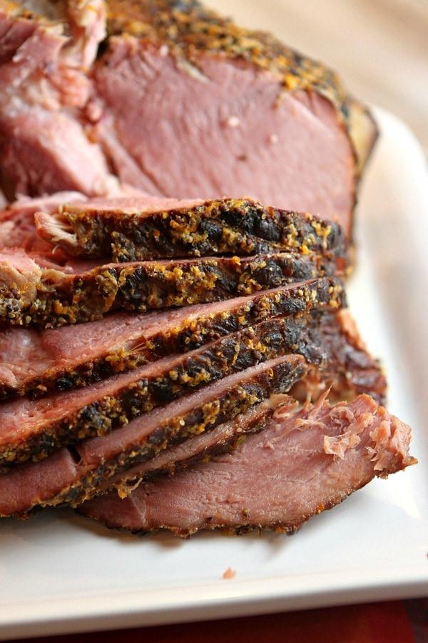 Slow Cooker Cider Ham