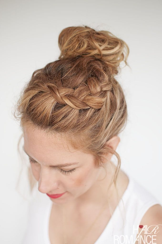 15 Easy Updos For All Lengths And Types Of Hair Perfect Lazy Days
