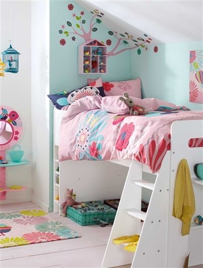 A roundup of gorgeous little girl rooms sure to give you some inspiration! Check it out on { lilluna.com }