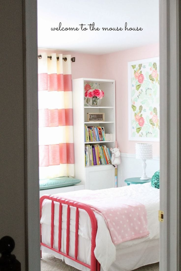 Little Girls Room Part - 40: A Roundup Of Gorgeous Little Girl Rooms Sure To Give You Some Inspiration!  Check It