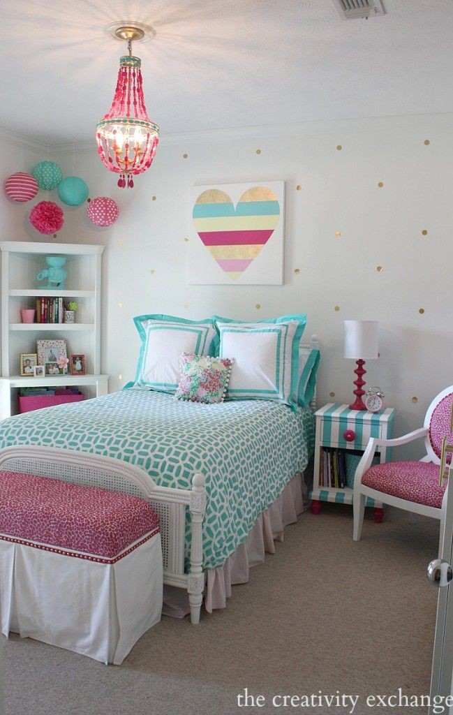Designs For Girls Rooms: Girls Room Inspiration