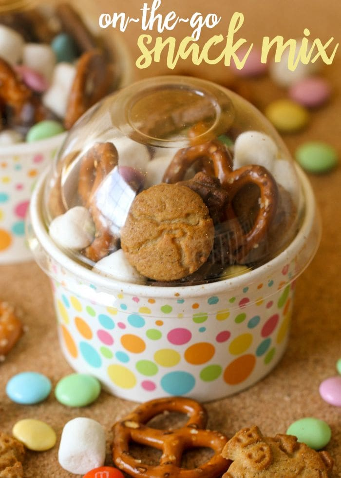 Quick and simple on-the-go Snack Mix perfect for the park or road trips. { lilluna.com }