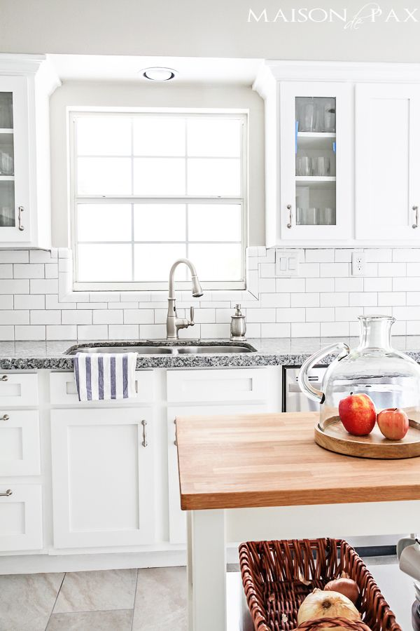 A roundup of beautiful kitchens to inspire your own kitchen design! Check it out on { lilluna.com }