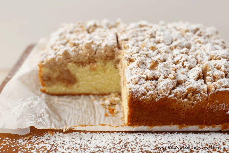 much as the cake then you're gonna love this New York Style Crumb Cake ...