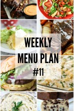 Weekly Menu Plan #11HERO