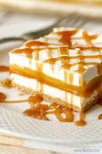 Caramel Creme Squares