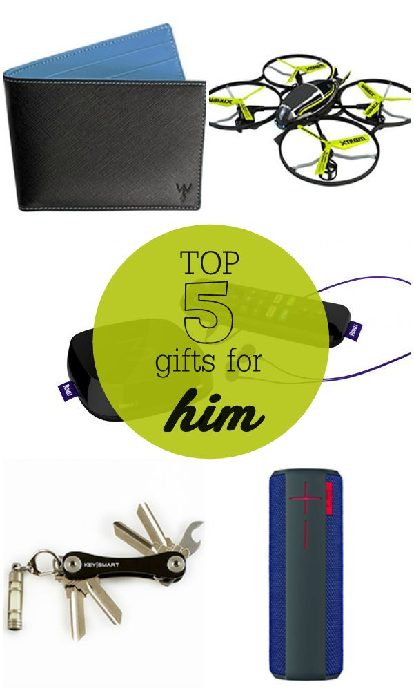 TOP 5 Gifts for Him - perfect for birthdays, special days or the holidays!!