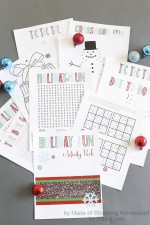 Printable Winter Activity Pack