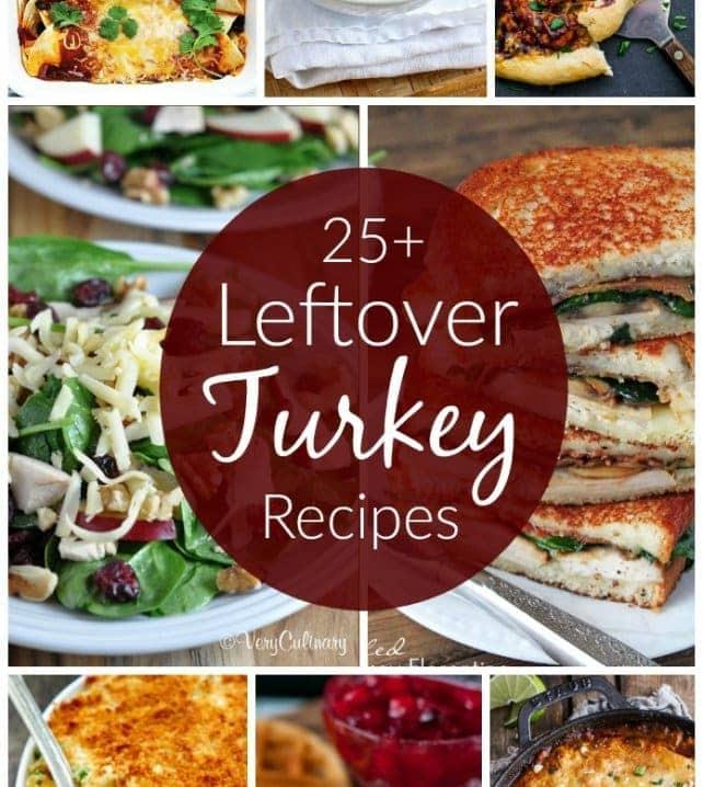 25+ Leftover Thanksgiving Recipes | LilLuna.com